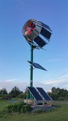 SkyWolf Solar Hybrid Wind Turbine