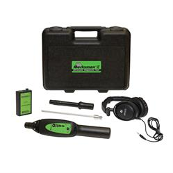 Marksman II ultrasonic diagnostic tool with components spread out
