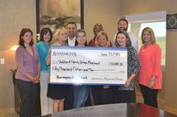 Sammons Financial Group Makes $50,000 Donation