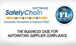 SafetyChain Supplier Compliance Automates Management of FSMA's Foreign Supplier Verification Program, Supplier Onboarding and Auditing, Document Control and More