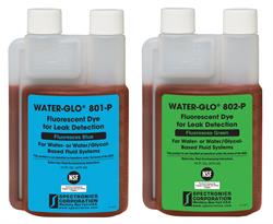 WATER-GLO 801-P & WATER-GLO 802-P fluorescent leak detection dyes