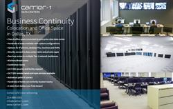 Carrier-1 Opens 10,000 Sq. Ft. Business Continuity Center