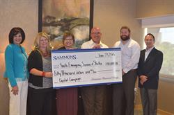 Sammons Financial Group donates $50,000 to Youth Emergency Services & Shelter