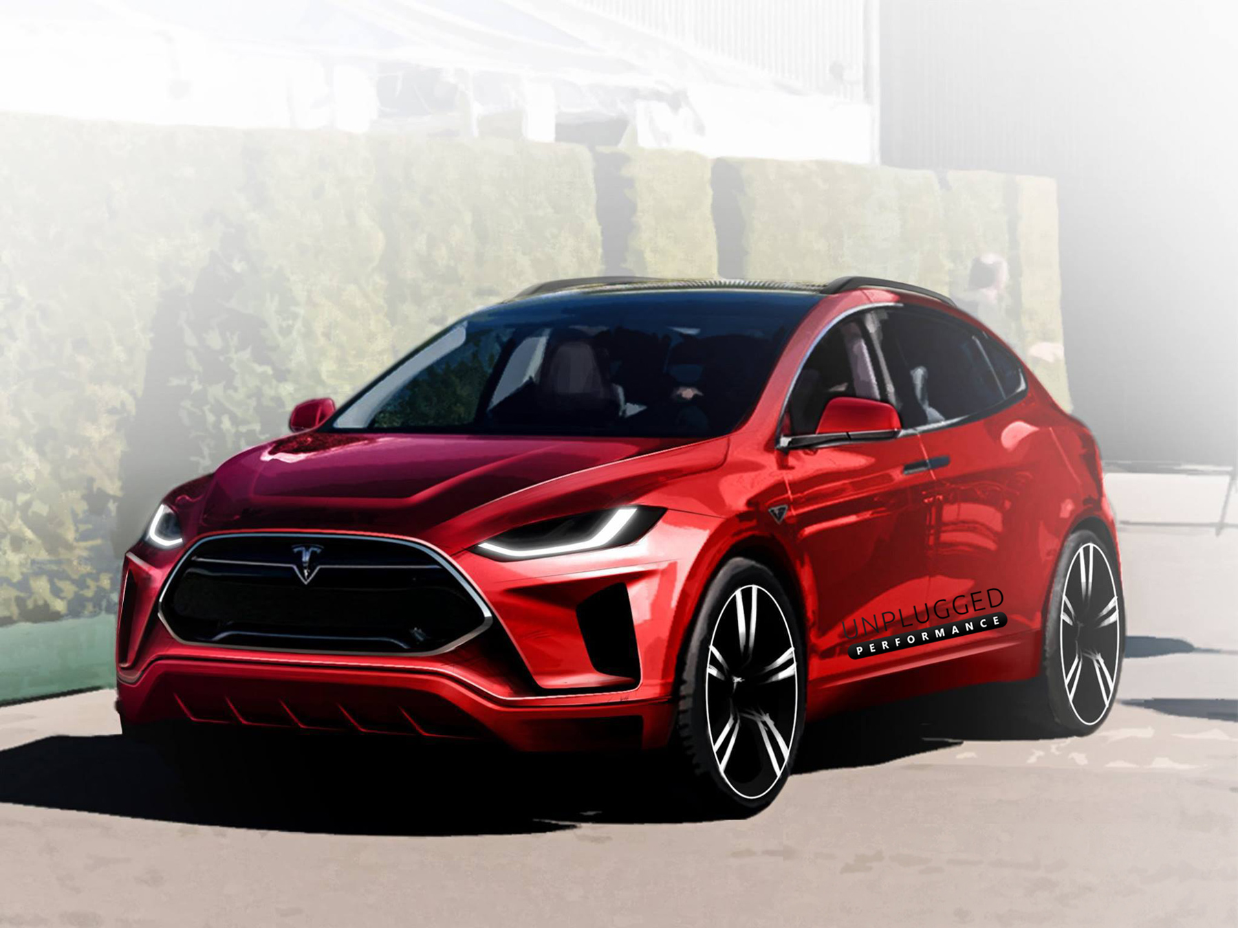 Unplugged Performance 750 Hp Tesla Model X Suv Concept Debut