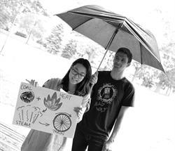Seneca College Graduates Alice Huang and Joe Fava
