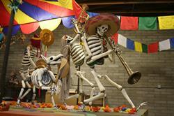 Banda Calaca by Hank Tusinski