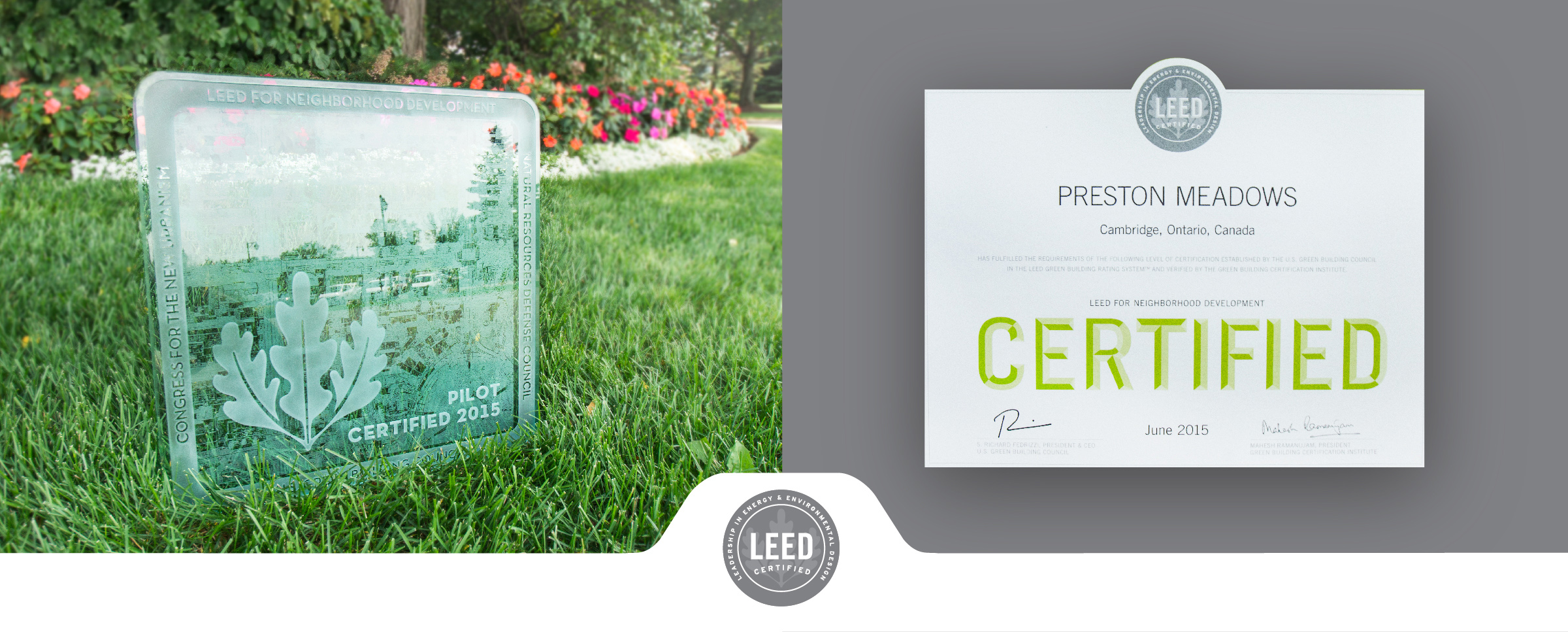 Preston Meadows Is The First Fully Certified Pilot Leed