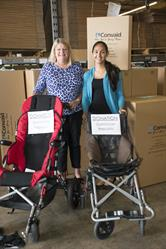 Convaid donates wheelchairs to Mission Emanuel