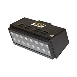PowerMAX 365 Series flood lamp features a panel of 16 powerful UV-A LEDs