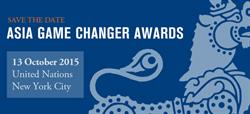 Pacquiao and the other honorees will attend the Asia Game Changer Awards Dinner and Celebration at the United Nations on October 13, 2015.