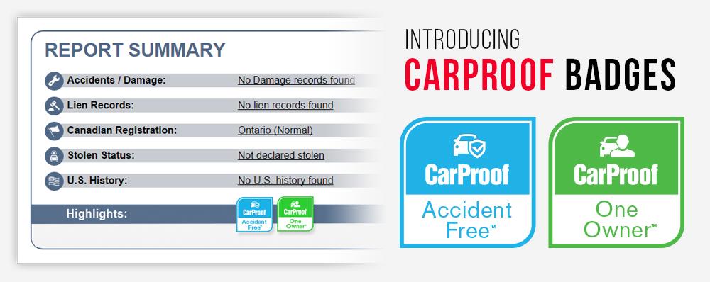 Carproof S New Badging Service Simplifies Used Car