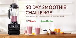 Vitamix and Green Blender Smoothie Challenge
