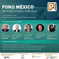 La quinta edición del Foro México de Publicidad y Medios