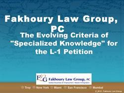 L-1 Visa Petition
