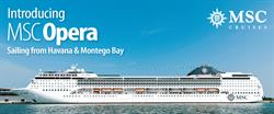 Sunwing Vacations announces all inclusive cruise packages with MSC Opera beginning December 2015