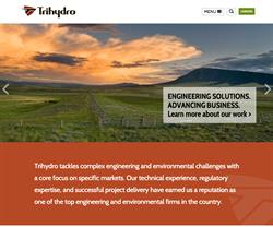 Trihydro Corporation Website Design and Development