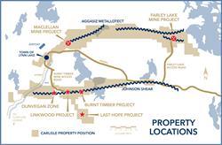 Carlisle Property Locations, incl. JV