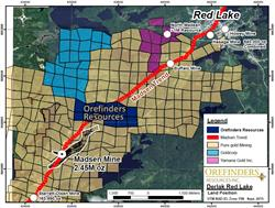 Orefinders Red Lake Land Package