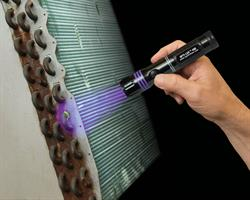 The OPTI-LUX 400 flashlight pinpoints the exact location of every leak