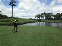Paul Pitcher of First Down Funding at TPC Sawgrass in Ponte Vedra, FL