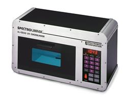XL-1500 SPECTROLINKER UV crosslinker sanitizes tools, devices and work surfaces in the forensic lab