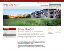Website Design and Development for Stanford West