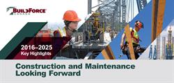 2016 labour market forecast for the Canadian construction industry