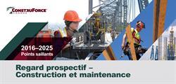 Prévisions 2016 sur le marché du travail du secteur de la construction au Canada
