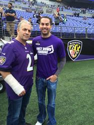 "Bret ""Hitman"" Hart and Paul Pitcher"