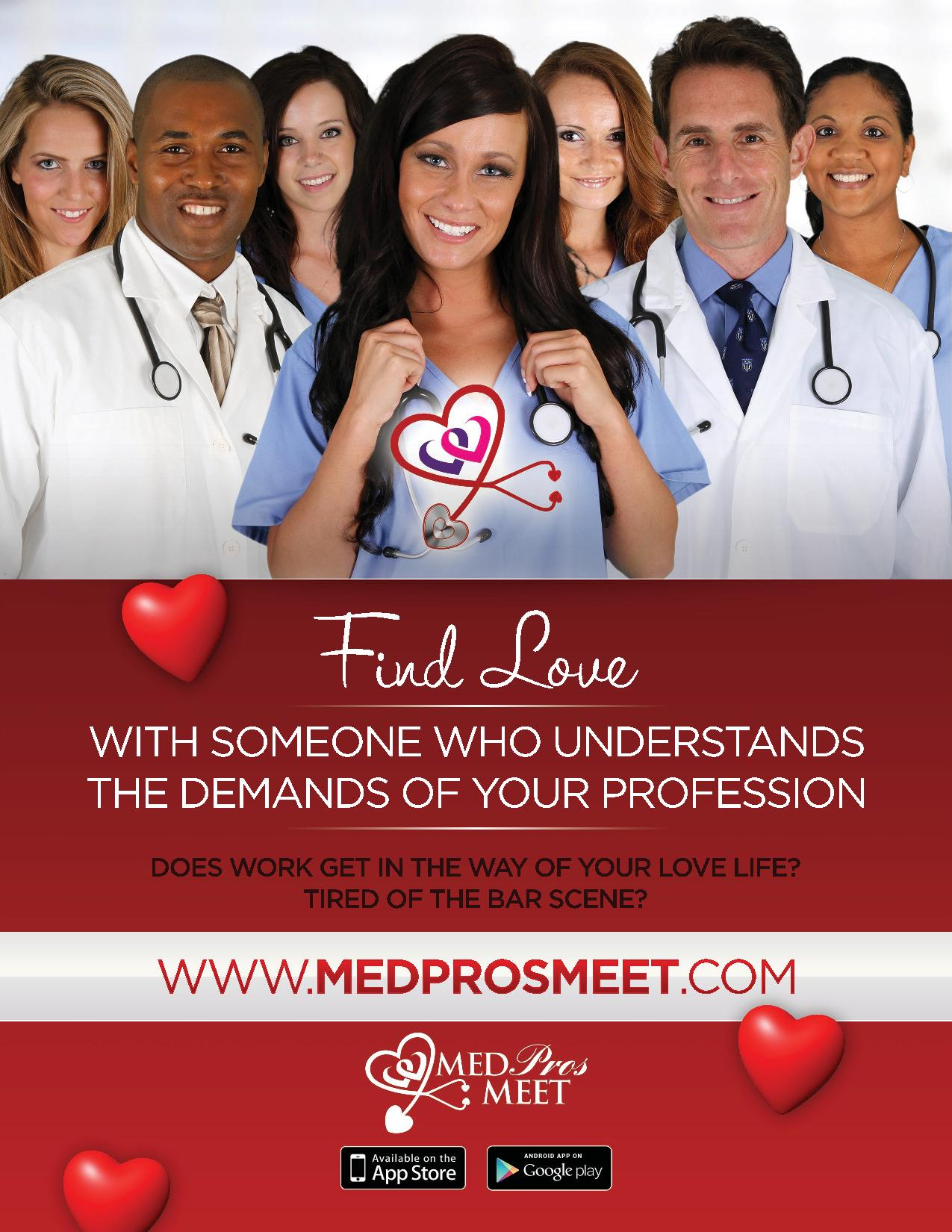 Online dating sites for medical professionals