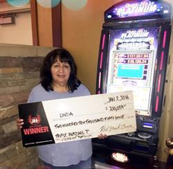 Lucky New Year for Red Hawk Casino Winner