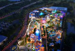 Fun Spot Master Plan Aerial View #1