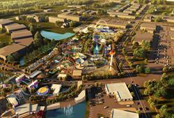 Fun Spot Master Plan Aerial View #2