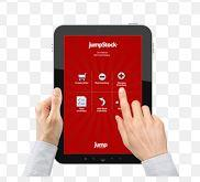 JumpStock uses non-proprietary mobile devices
