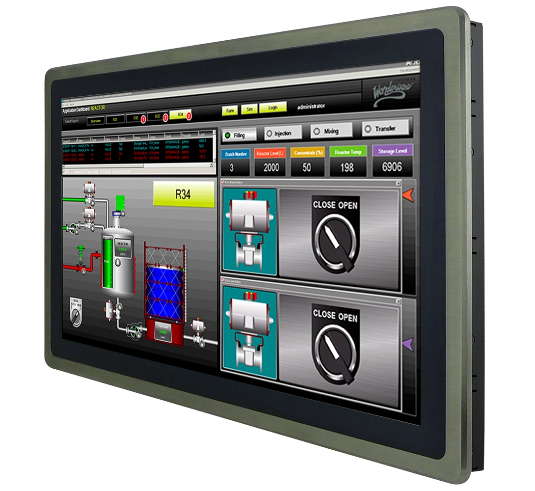 Ais Announces Touch Monitors For Operation And Process Control