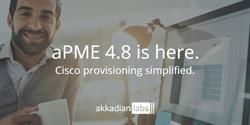Cisco solutions software aPME 4.8 release