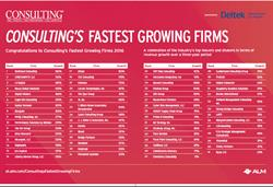 Consulting Magazine Fastest Growing Chart