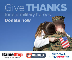 GameStop Gives Thanks for Our Military Heroes