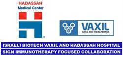 Vaxil Bio and Hadassah Collaboration