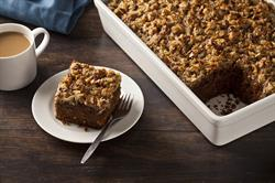 Chocolate Pumpkin Cake with Broiled Coconut Pecan Frosting