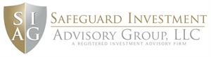 safeguard investment logo with gold and silver shield
