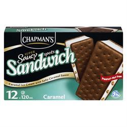 Chapman's Salty Caramel Saucy Sandwich
