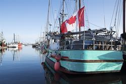 Canadian fishing boat