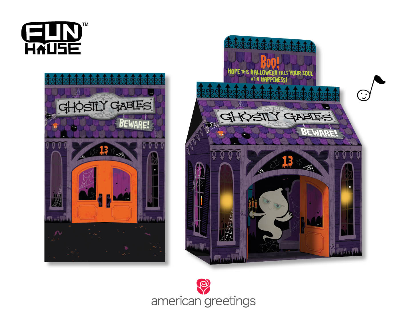 Bring The House Down This Halloween With New Fun Housetm Cards