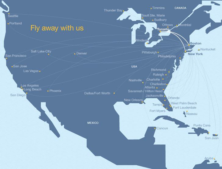 porter and jetblue introduce interline gateway at newark