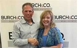 Eric Burch and Vikki Bartholomae in Jonesboro, Arkansas on Thursday.