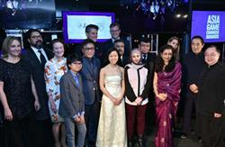 Asia Game Changers pose together at the United Nations on October 27, 2016. (Jamie Watts/Asia Society)