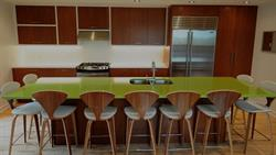 Evolve crafts top quality kitchen cabinets from green materials.