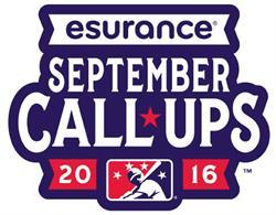 Esurance September Call-Ups Logo