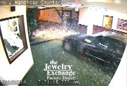 The Jewelry Exchange robbery.